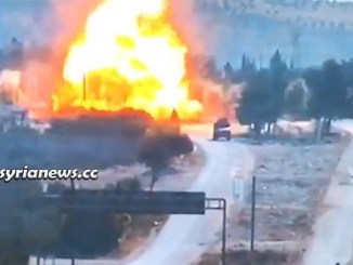 Erdogan Terrorists Bomb Russian - Turkish Patrol in Idlib Countryside