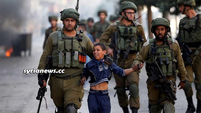 israel IDF kidnap Palestinian child