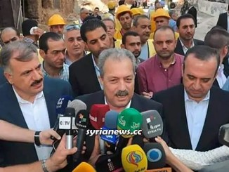 Syria Prime Minister Engineer Hussein Arnous