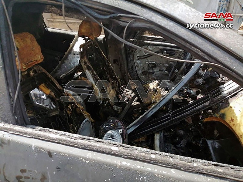 Car explosion in Daraa