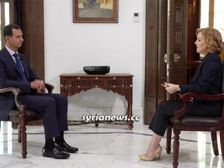 Syria President Bashar Assad interview with Russia Ministry of Defense Zvezda Channel