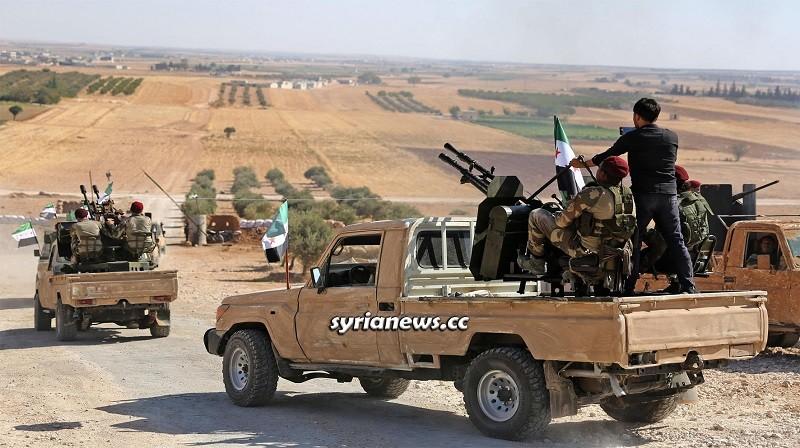 Erdogan terrorists in northern Syria - Ras Al Ain Hasakah Deir Ezzor Raqqa