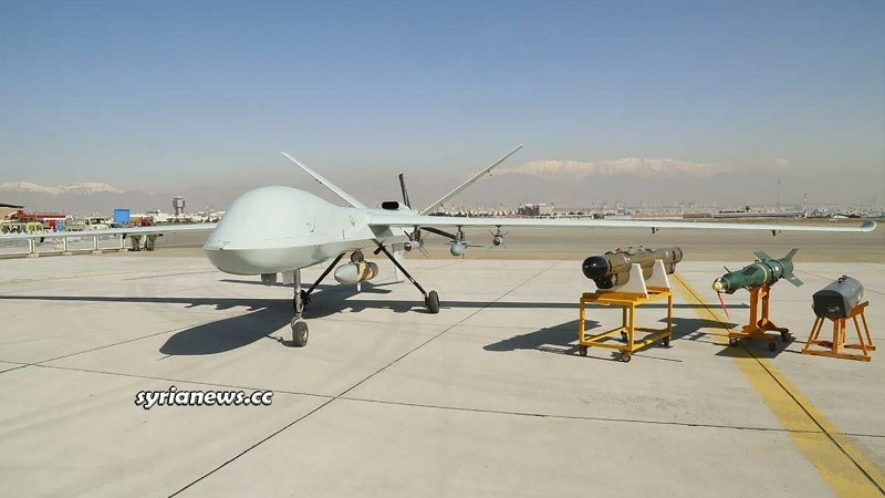 Iran's Latest Spy and Combat Kaman 22 Drone Unveiled