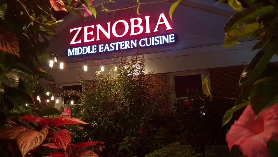 Zenobia LED Sign