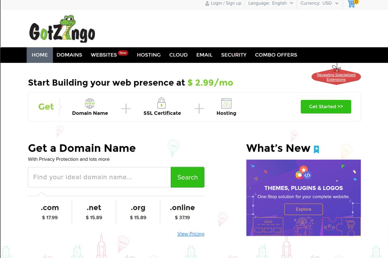GotZingo.com Website