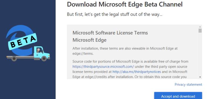 Downloading Edge