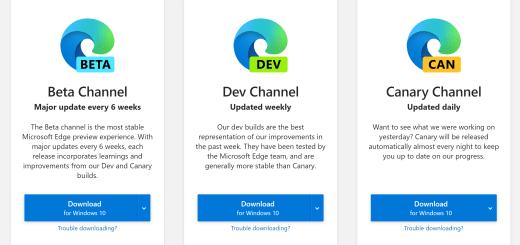 The new Microsoft Edge Logos