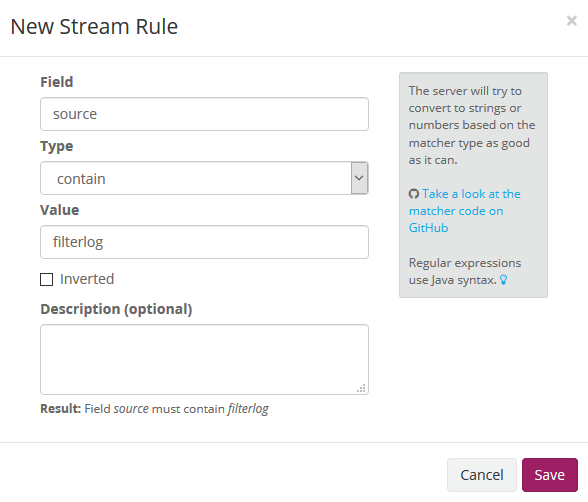 Pfsense stream rule