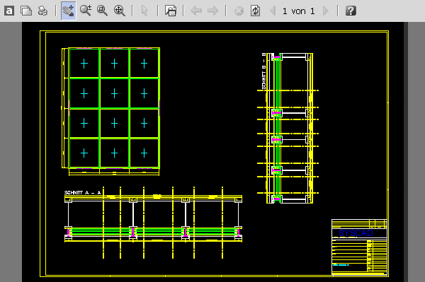 syscad team gmbh autocad software for metal construction with profile systems