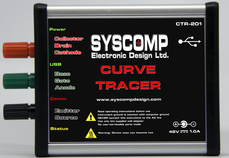 Curve Tracer Syscomp Electronic Design