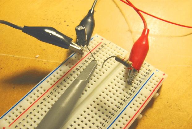 Capacitor-Closeup