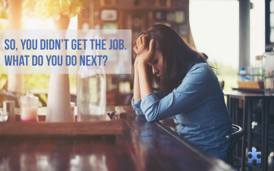 So, You Didn't Get the Job. Here's How to Survive Rejection
