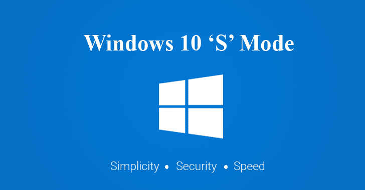 Windows 10 S Mode