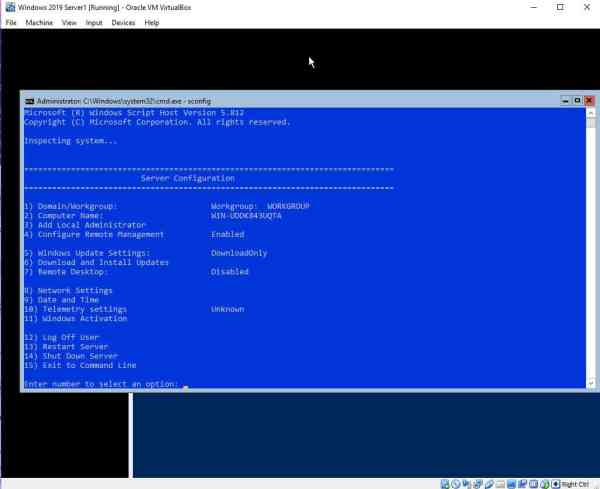 Install Windows 2019 Server (LTSC & SAC) on VirtualBox ...