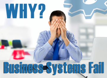 why business systems fail