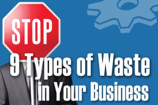 nine types company waste