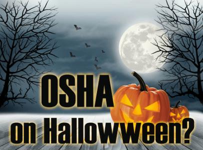 osha regulations on halloween