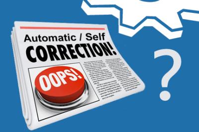self-correcting errors