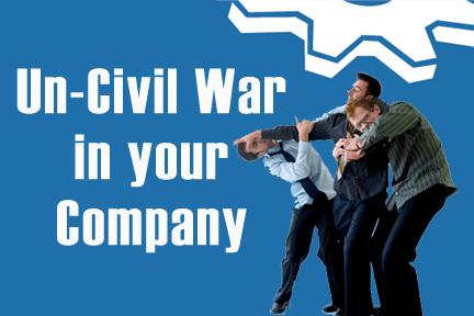un-civil war in small business