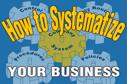 systematize a business