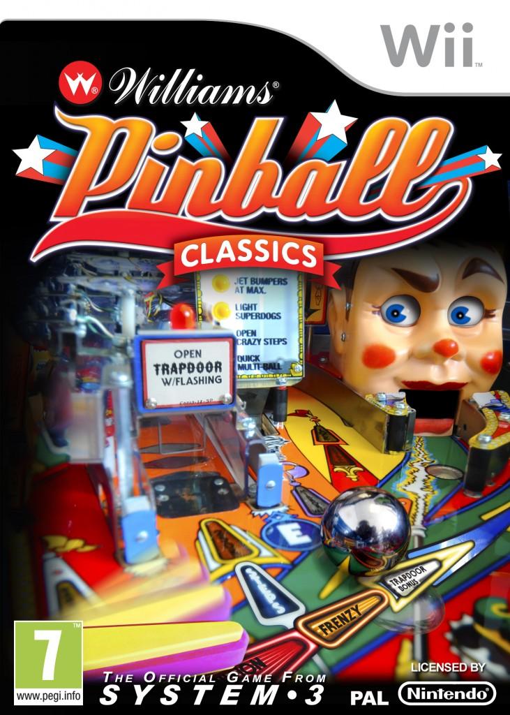 System 3 Williams Pinball Classics Wii