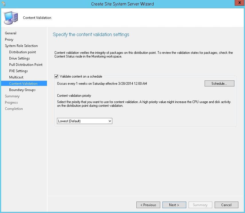 SCCM 2012 Distribution Point Installation