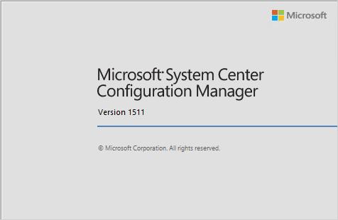 SCCM 1511 Configuration