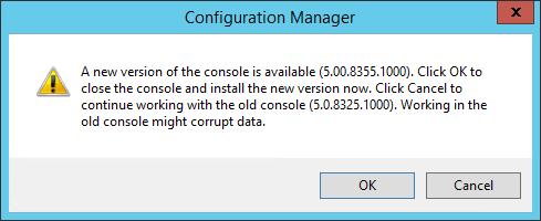 SCCM 1602 upgrade guide