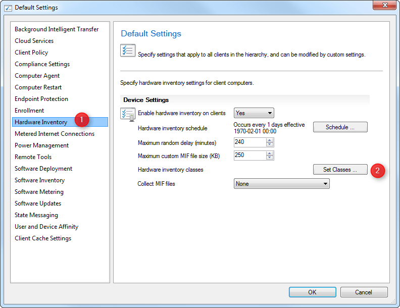 SCCM Office 365 inventory report