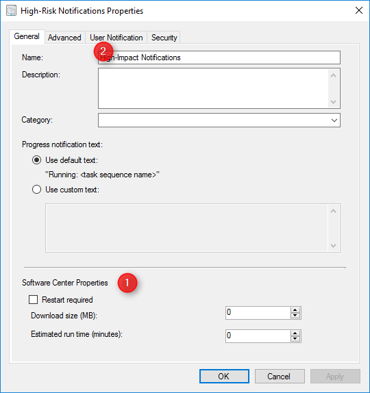 SCCM High-Impact Task Sequence Settings