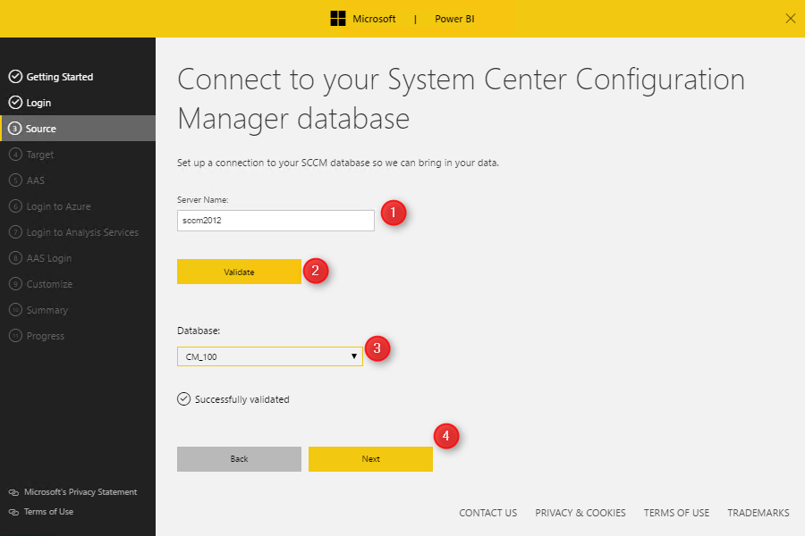 SCCM Power BI Dashboard