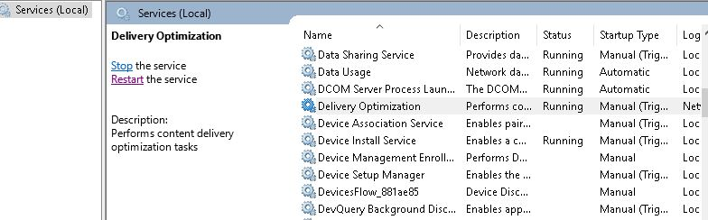 SCCM Delivery Optimization Task sequence