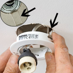 Comment Poser Un Spot Ou Une Suspension Au Plafond