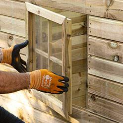Comment Construire Une Cabane En Bois Sur Une Pente