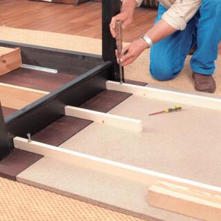 fabriquer une rallonge de table amovible