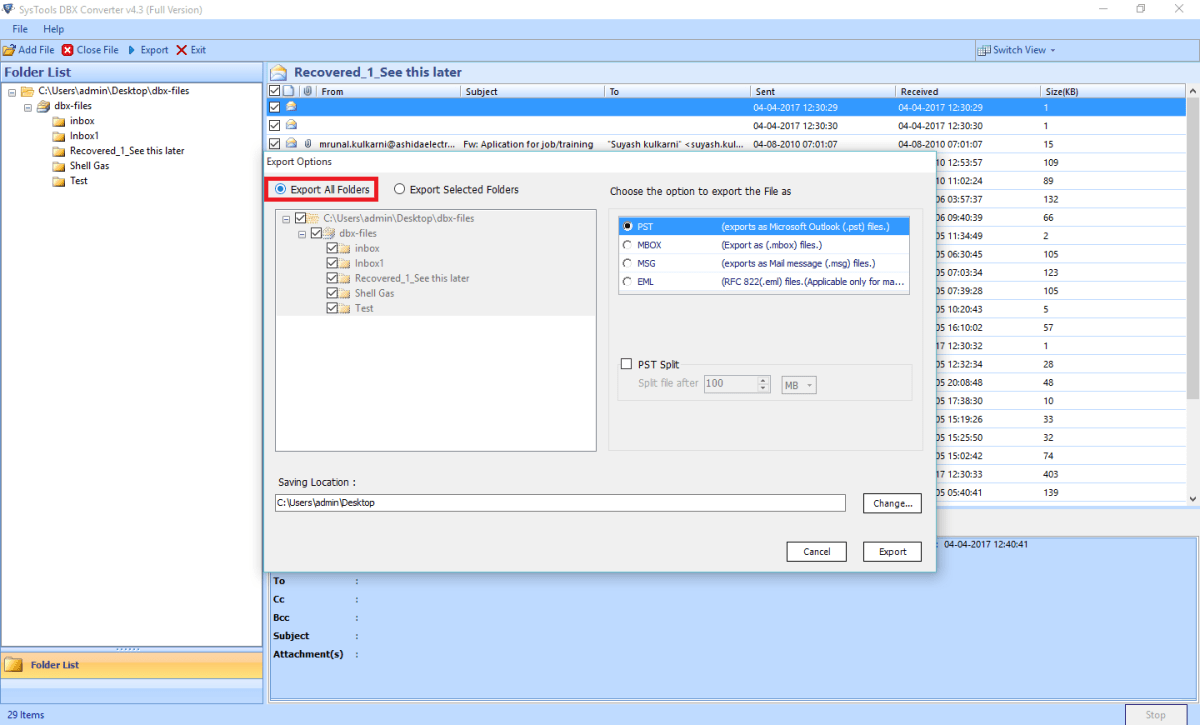 convert dbx to pst Convert DBX to PST With Attachments Via Outlook Express Converter - A DIY Guide