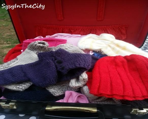 valise tricot poupée