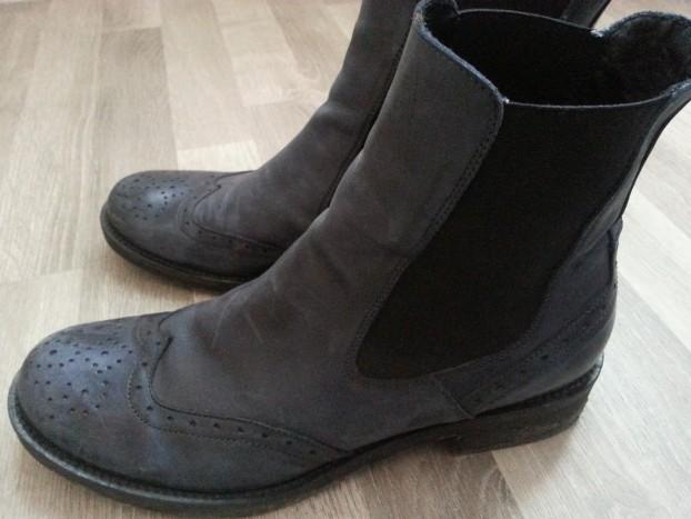 boots bleu donnapiù