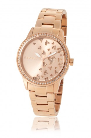 montre or rose esprit