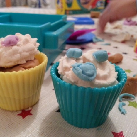cupcake pâte à modeler