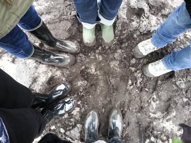 pieds dans la gadoue blédina