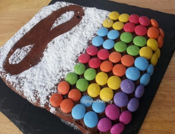 Gâteau arlequin sysyinthecity