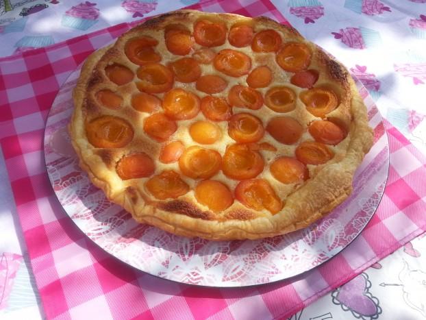 tarte amandine abricots sysyinthecity