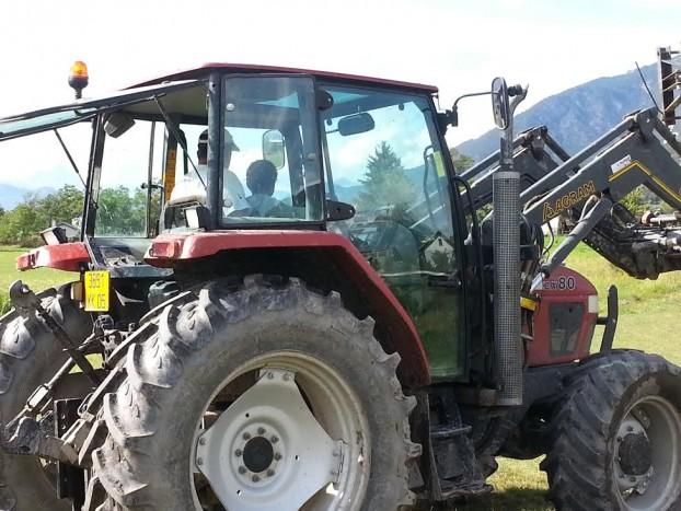 conduite tracteur