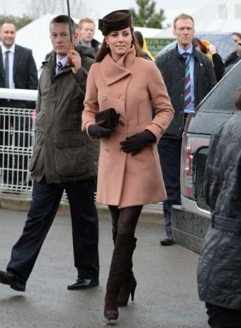 manteau rose kate