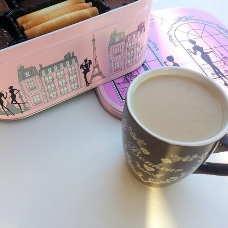 thé au soleil delacre