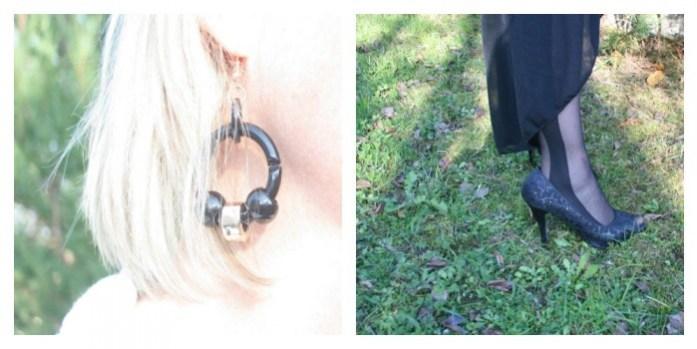 boucles oreilles escarpins