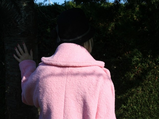 nafnaf manteau rose sysyinthecity