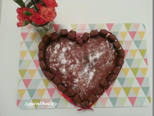 gâteau coeur chocolat sysyinthecity