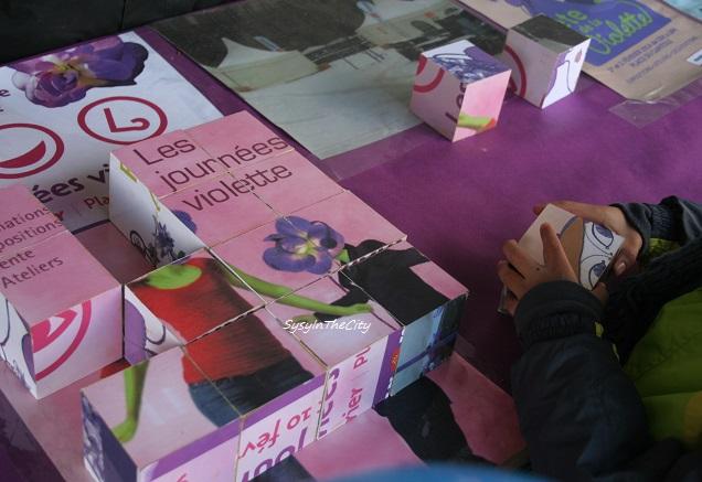 puzzle fête violette sysyinthecity toulouse 2015